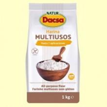 Harina Multiusos - 1 kg - Naturdacsa