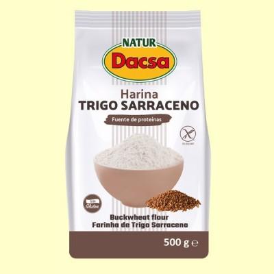 Harina de Trigo Sarraceno - 500 gramos - Naturdacsa