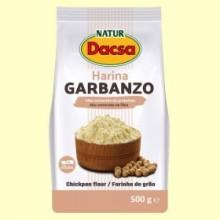 Harina de Garbanzo - 500 gramos - Naturdacsa
