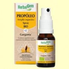 Propóleo Amplio Espectro Spray Bio - Garganta - 15 ml - Herbal Gem