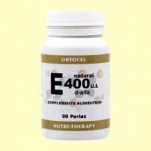 Vitamina E Natural - 90 perlas - Ortocel