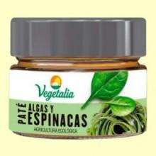 Paté de Algas y Espinacas Bio - 110 gramos - Vegetalia