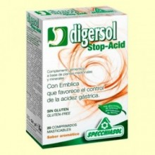 Digersol Stop Acid - 20 comprimidos - Specchiasol