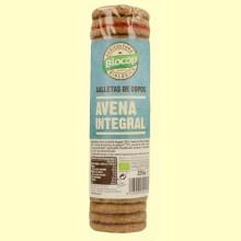Galletas de copos de Avena Integral Bio - 250 gramos - Biocop