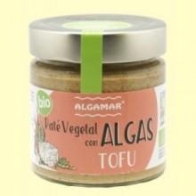 Paté Vegetal con Algas y Tofu - 180 gramos - Algamar