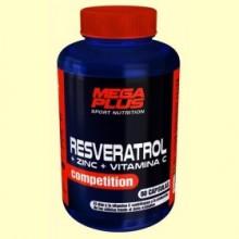 Resveratrol Competition - Zinc y Vitamina C - 60 cápsulas - Mega Plus
