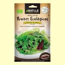 Semillas de Mostaza Blanca Brotes Eco - 20 gramos - Batlle