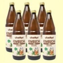 Kombucha Bio - Pack 6 x 750 ml - Voelkel