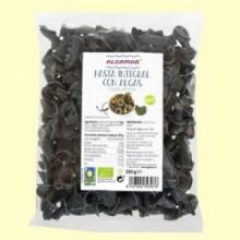 Pasta Integral con Algas Flores de Mar Bio - 250 gramos - Algamar