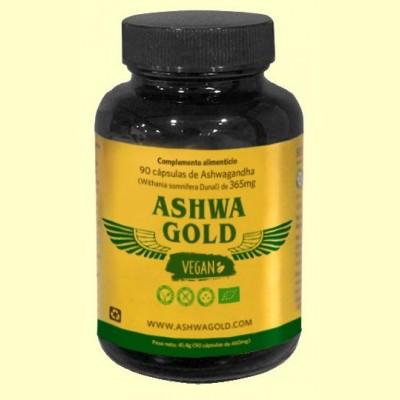 Ashwa Gold Vegan - 90 cápsulas - Serpenslabs