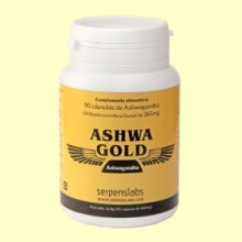Ashwa Gold - 90 cápsulas - Serpenslabs
