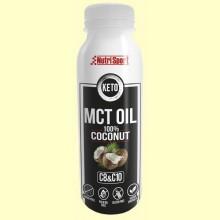 Keto MCT Oil 100% Coconut - Aceite de Coco - 300 ml - NutriSport
