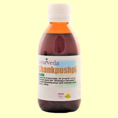 Aceite Shankhpushpi - 500 ml - Ayurveda