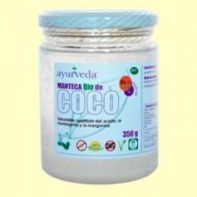 Manteca de Coco Bio - 350 gramos - Ayurveda