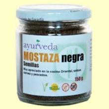Semillas de Mostaza Negra - 150 gramos - Ayurveda