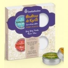 Kit 4 Mantecas de Karité Perfumadas Bio - 4 unidades - Esential Aroms