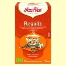 Regaliz Bio - 17 infusiones - Yogi Tea