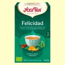 Felicidad Bio - 17 infusiones - Yogi Tea