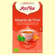 Alegría de Vivir Bio - 17 infusiones - Yogi Tea