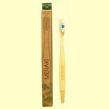 Cepillo de Dientes de Bambú Duro - 1 unidad - Meraki