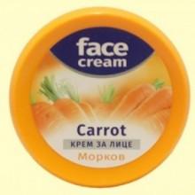Crema Hidratante Facial de Zanahoria Antioxidante - 100 ml - Biofresh