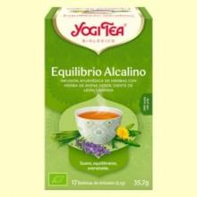 Equilibrio Alcalino Bio - 17 infusiones - Yogi Tea