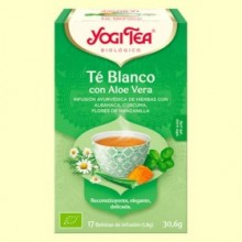 Té Blanco con Aloe Vera Bio - 17 infusiones - Yogi Tea
