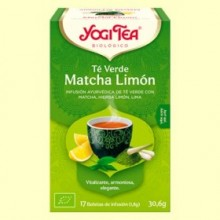 Té Verde Matcha Limón Bio - 17 infusiones - Yogi Tea