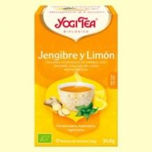 Jengibre y Limón Bio - 17 infusiones - Yogi Tea