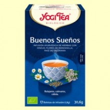 Buenos Sueños Bio - 17 infusiones - Yogi Tea