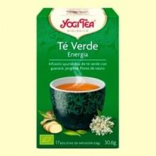 Té Verde Energía Bio - 17 infusiones - Yogi Tea