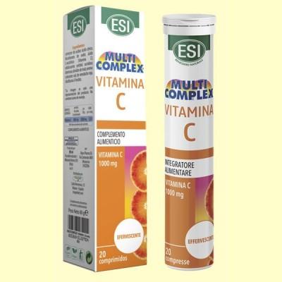 Vitamina C 1000 mg - 20 comprimidos - Laboratorios Esi