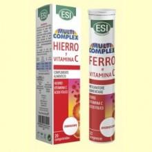Hierro y Vitamina C Efervescente - 20 comprimidos - Laboratorios Esi