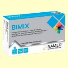 Bimix - Complejo de Vitamina B - 30 comprimidos - Named