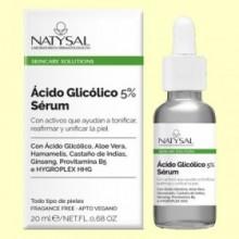 Ácido Glicólico 5% Sérum - 20 ml - Natysal
