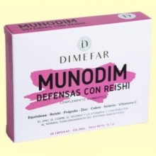 Munodim Equinácea y Reishi - 30 cápsulas - Laboratorios Dimefar