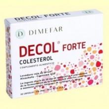 Decol Forte Levadura Roja Arroz - 30 cápsulas - Laboratorios Dimefar