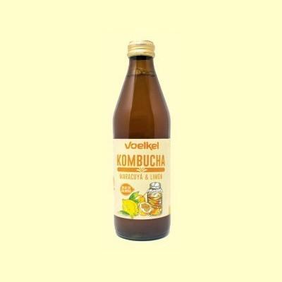 Kombucha Maracuyá y Limón Bio - 330 ml - Voelkel