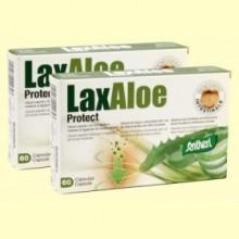Laxaloe Protect - Pack 2 x 60 cápsulas - Santiveri