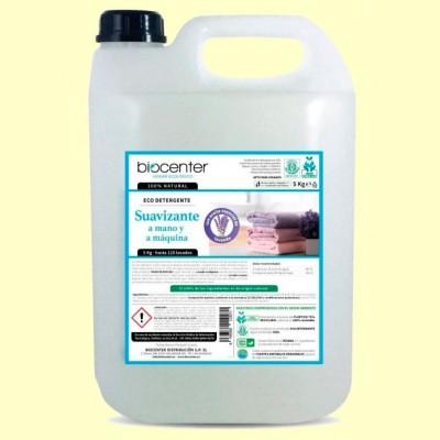 Eco Suavizante Ropa Lavanda Bio - Lavadora y a Mano - 5 litros - Biocenter