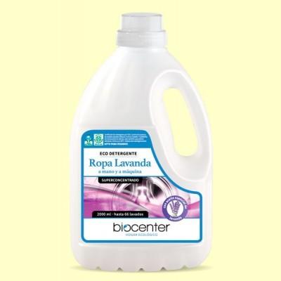 Eco Detergente Ropa Lavanda Bio - Lavadora y a Mano - 2 litros - Biocenter