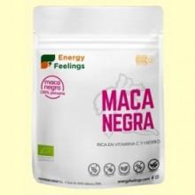 Maca Negra en Polvo Eco - 200 gramos - Energy Feelings