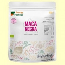 Maca Negra en Polvo Eco - 500 gramos - Energy Feelings