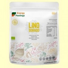 Harina de Lino Dorado Eco - 1 kg - Energy Feelings