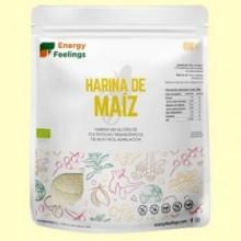 Harina de Maíz Eco - 1 kg - Energy Feelings