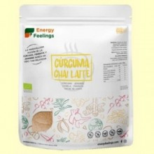 Cúrcuma Chai Latte Eco - 500 gramos - Energy Feelings