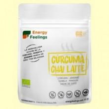 Cúrcuma Chai Latte Eco - 150 gramos - Energy Feelings