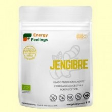 Jengibre en Polvo Eco - 200 gramos - Energy Feelings