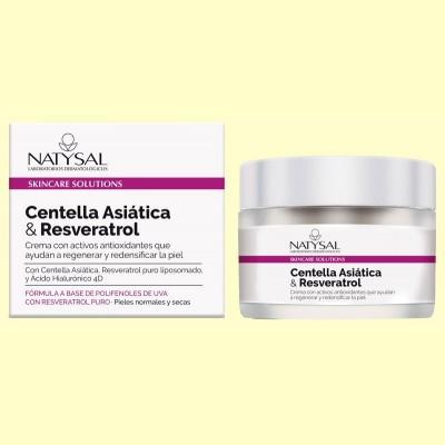Crema de Centella Asiática y Resveratrol - 50 ml - Natysal