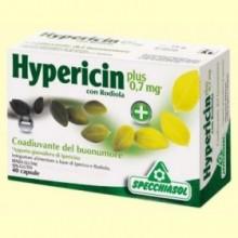 Hypericin con Rodiola - 40 cápsulas - Specchiasol